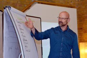 Uwe Leidner im Projektmanagement Seminar zu Soft Skills